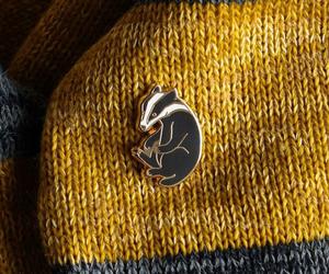 harry potter, hufflepuff, and yellow image