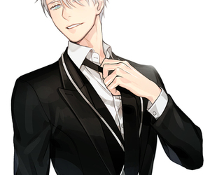 yuri on ice, anime, and viktor nikiforov image