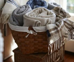 blankets, decor, and ideas image