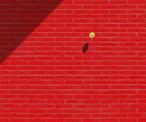 minimalism, photography, and red image