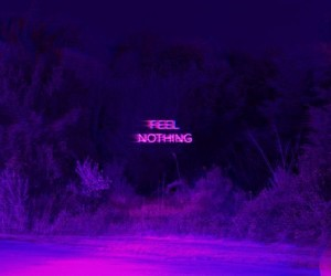 :(, purple, and feel nothing image
