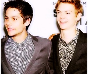 the maze runner, thomas brodie sangster, and dylan o brien image