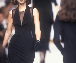 90s, model, and runway image