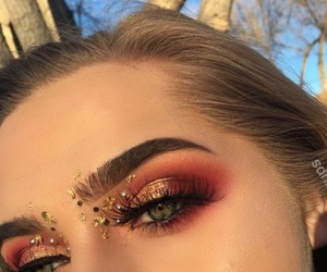 cherry, glam, and gold image