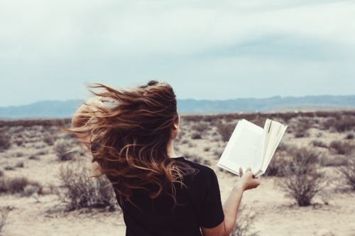 books, girl, and hair image