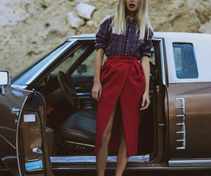 black, girl, and street image