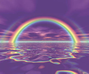 aesthetic, cute, and arco iris image
