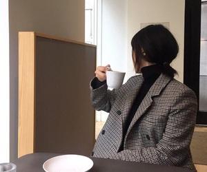 aesthetics, coat, and korean image