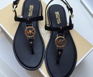 sandals, shoes, and black image