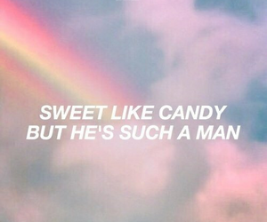 quotes, rainbow, and moonlight image