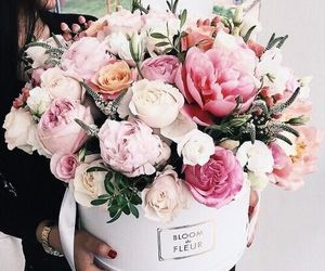 floral, flowers, and send me flowers image
