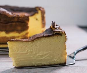 cake, cheese, and cheesecake image