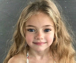 child, cute, and girl image