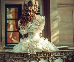 dress, fairytale, and princess image
