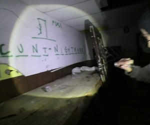 abandoned, aesthetic, and cunt image