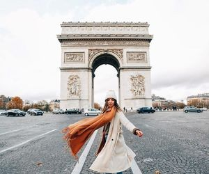 girl, fashion, and paris image