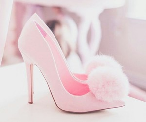 girly, pompom, and heels image