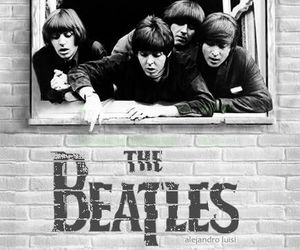 band, beatles, and music image
