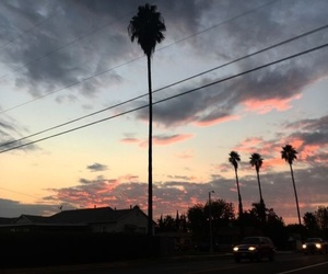 tumblr, sky, and sunset image