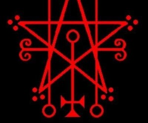 666, art, and demon image