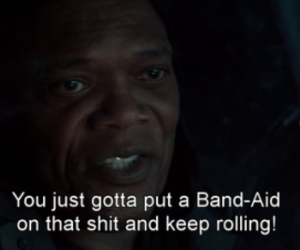 band aid, life, and quote image