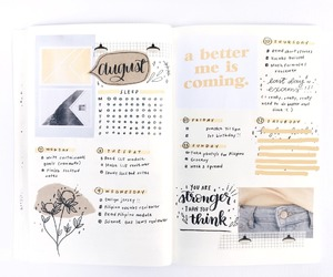 bullet, bujo, and diary image