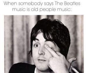 the beatles, Paul McCartney, and music image
