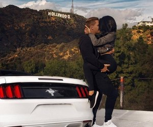 couple, love, and hollywood image
