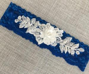 etsy, wedding garters, and wedding garter set image