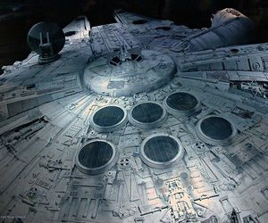 star wars and millennium falcon image