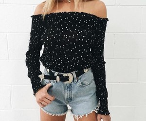 blouse, clothes, and shorts image