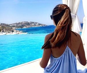 blue, tan, and classy image