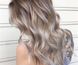 blonde and hairstyles image