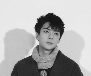 black and white, oh sehun, and exo image
