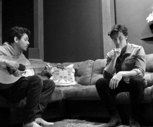 john mayer, music, and shawn mendes image