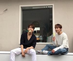 kpop, youngjae, and jongup image