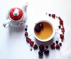 cherry, friday, and teatime image