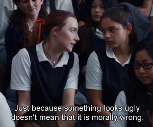 lady bird, movie, and quotes image