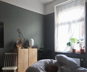 bedroom, interior design, and minimalism image