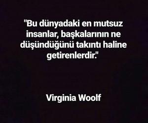 virginia woolf, alıntı, and türkçe sözler image