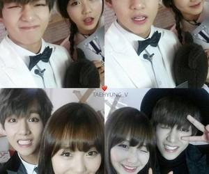 kpop, v, and sujeong image
