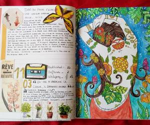 art, art journal, and collages image