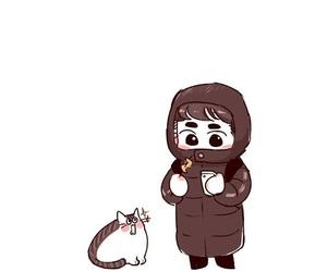 chibi, kyungsoo, and chanyeol image