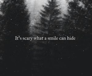 feelings, hide, and smile image