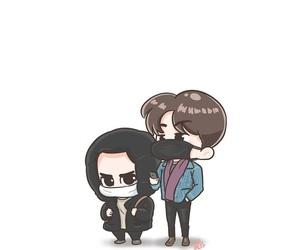 exo, do kyung soo, and sehun image