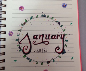 flowers, january, and month image