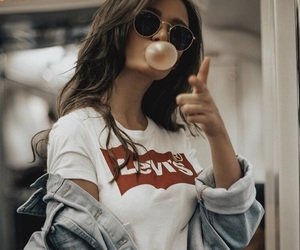 girl, style, and levi's image
