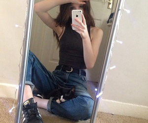 pale, girl, and tumblr image