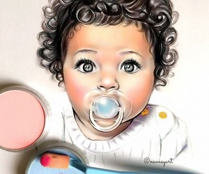 arte, baby, and color image