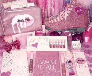 cosmetics, glitter, and luxury image